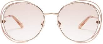 Chloé Carlina round-frame glasses