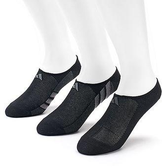Adidas 3-Pack Climacool Superlite Performance No-Show Socks - Men $14 thestylecure.com