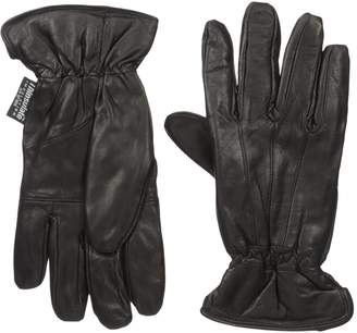 Dorfman Pacific Womens Lambskin Leather Thinsulate Lined Driving Gloves