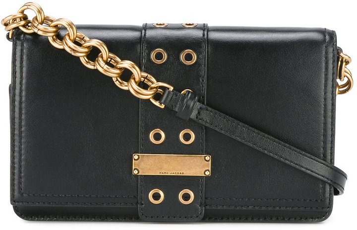 Marc Jacobs Marc Jacobs lock and strap crossbody bag