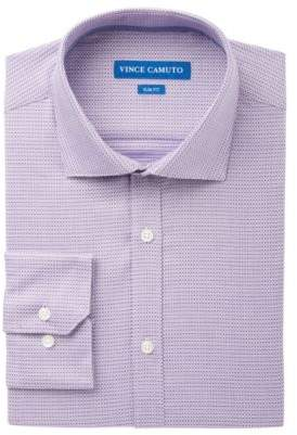 Vince Camuto Men's Slim-Fit Comfort Stretch Print Dress Shirt