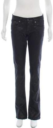 Ralph Lauren Mid-Rise Flared Jeans