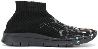 Maison Margiela paint drop sock sneakers