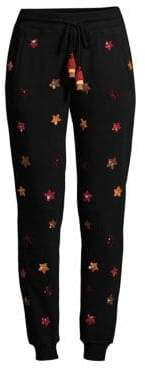 Rococo Sand Sequin Star Jogging Pants