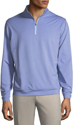 Peter Millar Perth Quarter-Zip Melange Sweatshirt