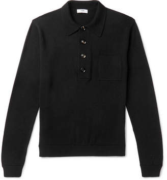 Cmmn Swdn Curtis Slim-Fit Wool Polo Shirt