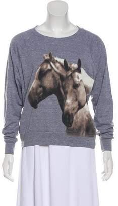 Haute Hippie Graphic Print Sweatshirt