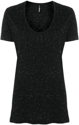 Woolrich tweed jersey T-shirt