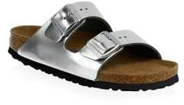 Birkenstock Arizona Soft Footbed Metallic Sandals