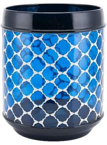 Allure Marrakesh Wastebasket Navy - Allure®