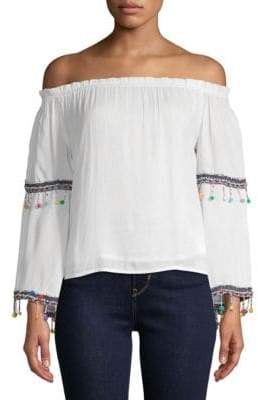 Raga Coconut Off-the-Shoulder Blouse