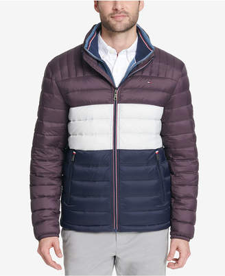 Tommy Hilfiger Men Down Quilted Packable Logo Jacket