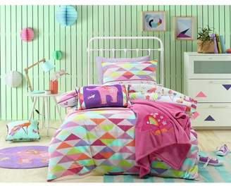 Peacock Princess Bed Quilt Cover Set