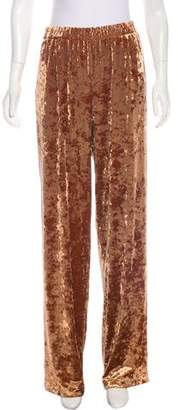 Tibi High-Rise Velvet Pants w/ Tags