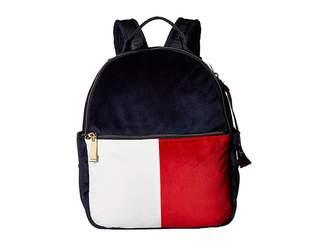 Tommy Hilfiger Isa Velvet Backpack