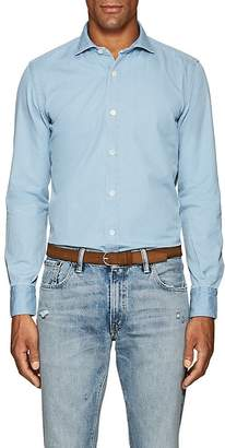 Eleventy Men's Cotton Chambray Shirt