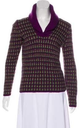 Oscar de la Renta Cashmere Knit Sweater