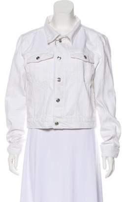Anine Bing Button-Up Denim Jacket w/ Tags