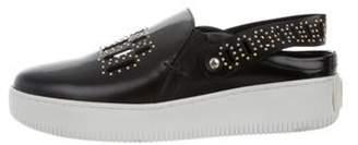 Alexander McQueen Slingback Slip-On Sneakers Black Slingback Slip-On Sneakers