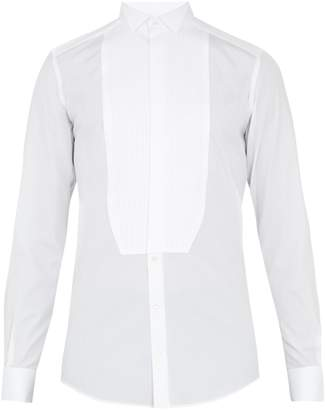 Dolce & Gabbana Gold-fit French-cuff cotton dinner shirt