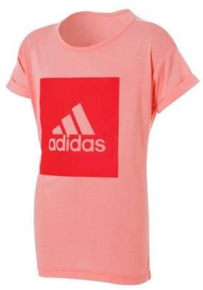 adidas Girl's Essentials Logo Tee