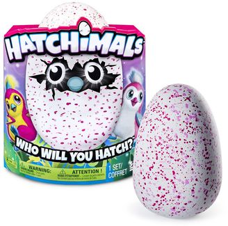 Hatchimals Penguala Pink Egg $59.99 thestylecure.com
