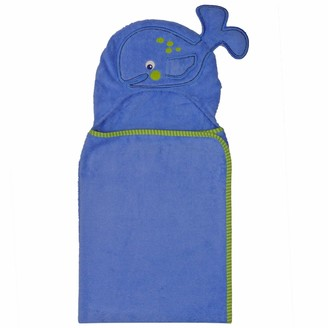 Neat Solutions 3-D Whale Hooded Bath Wrap