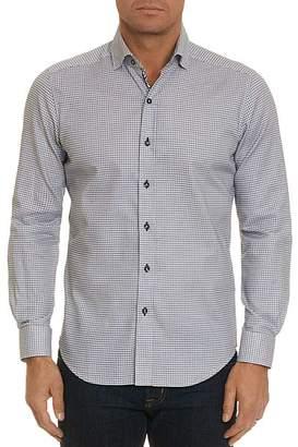Robert Graham Hobson Geometric-Print Tailored Fit Shirt - 100% Exclusive