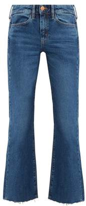 MiH Jeans Lou High Rise Flared Jeans - Womens - Denim