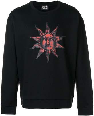 Fausto Puglisi sun print sweatshirt