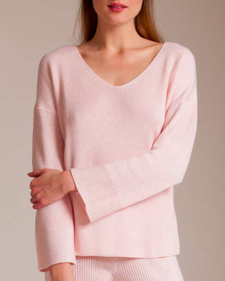 Skin Cotton Travel Knitwear Veronica Pullover