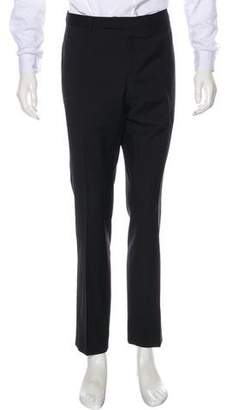 Christian Dior Flat Front Wool Pants