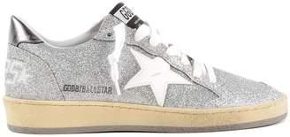 Golden Goose Glittered Ball Star Sneakers