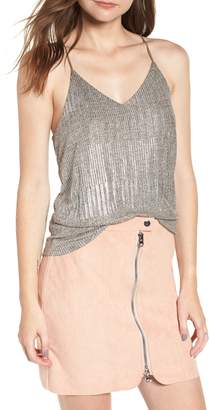 Bishop + Young BISHOP AND YOUNG Metallic Thread Racerback Cami