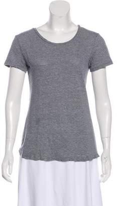 Current/Elliott Striped Short Sleeve T-Shirt