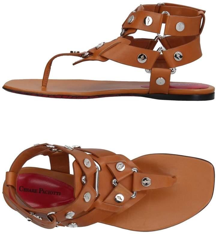 Cesare Paciotti Toe strap sandals - Item 11385984