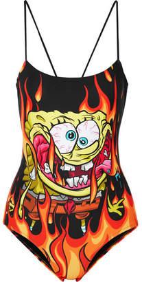 Moschino Nickelodeon Printed Swimsuit - Black