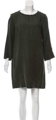 Raquel Allegra Shift Mini Dress