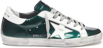 Golden Goose 'Superstar' mirror leather sneakers