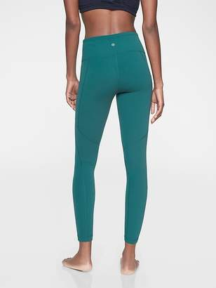 Athleta Salutation Stash Pocket 7/8 Tight In Powervita