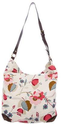Marni Floral Canvas Hobo