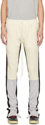 Fear Of God White and Grey Motorcross Lounge Pants