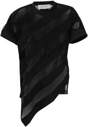 Marques Almeida Marques'almeida asymmetric striped top