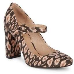 City Heel Mary Jane Pumps
