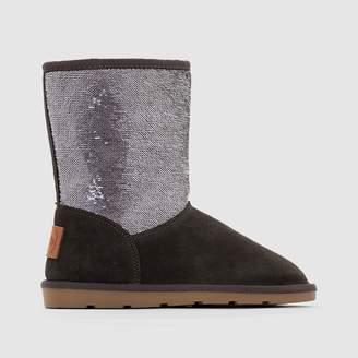 Les Tropéziennes Anetta Fur-Lined Ankle Boots