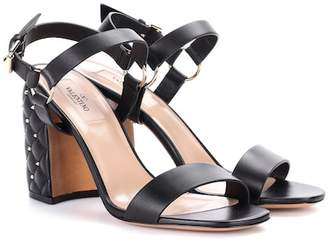 Valentino Free Rockstud Spike leather sandals