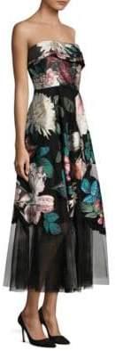 Sachin + Babi Baroda Floral Midi Dress