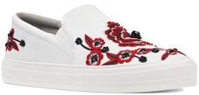 Nine West Onyeka Embroidered Slip-On Sneaker