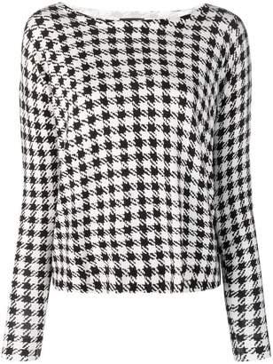 Liu Jo houndstooth print blouse
