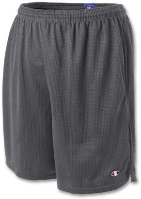 Champion Mens Long Mesh Shorts with Pockets, S162, XXL
